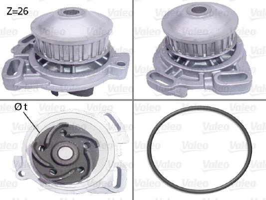 Pompe à eau - VALEO - 506190