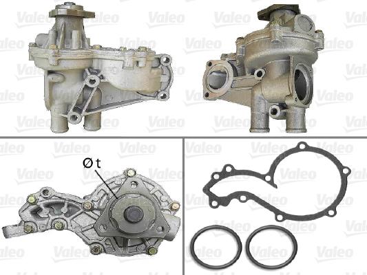 Pompe à eau - VALEO - 506227