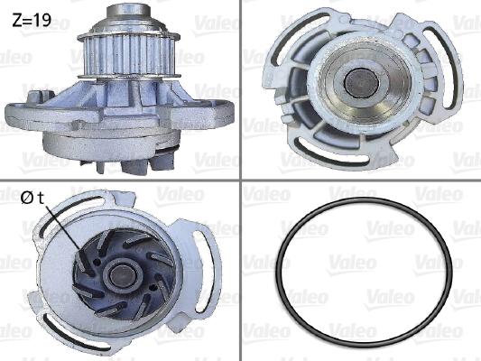 Pompe à eau - VALEO - 506240