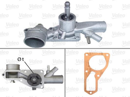 Pompe à eau - VALEO - 506245