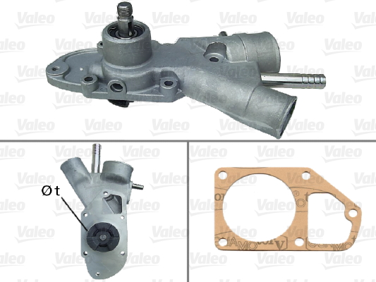 Pompe à eau - VALEO - 506247
