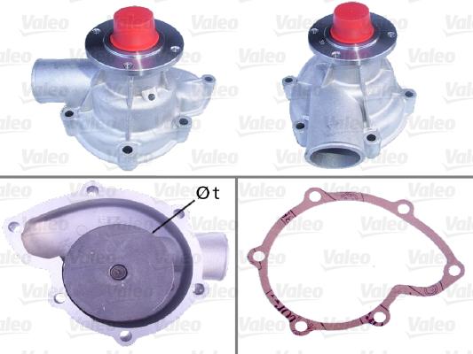 Pompe à eau - VALEO - 506249