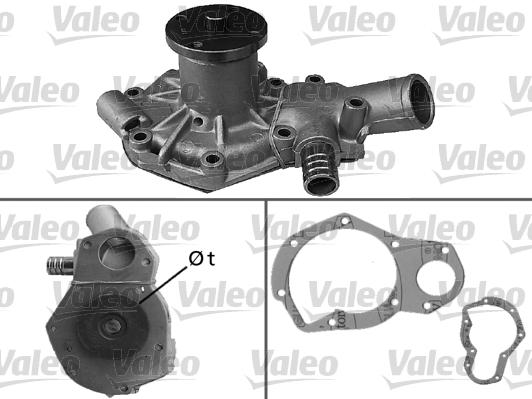Pompe à eau - VALEO - 506259
