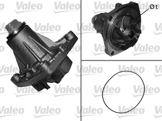 Pompe à eau - VALEO - 506281