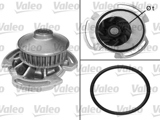 Pompe à eau - VALEO - 506282
