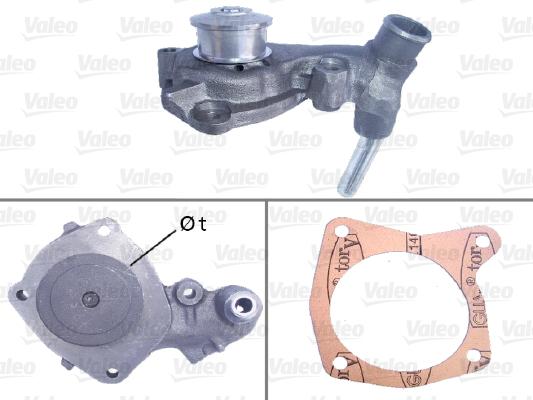 Pompe à eau - VALEO - 506287
