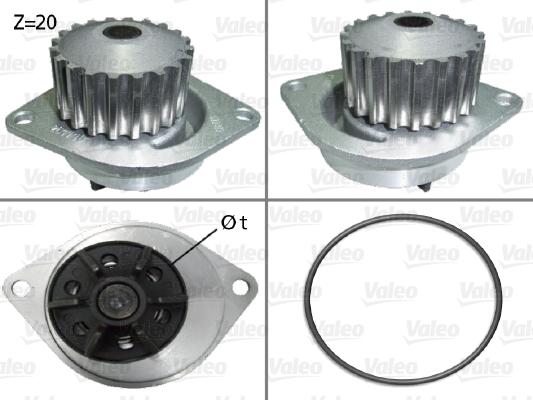 Pompe à eau - VALEO - 506290