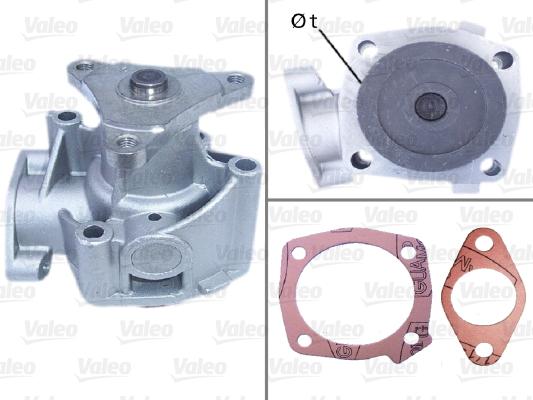 Pompe à eau - VALEO - 506296