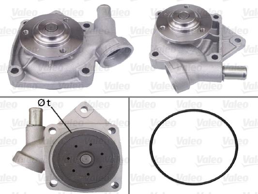 Pompe à eau - VALEO - 506297