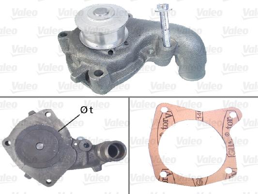 Pompe à eau - VALEO - 506301