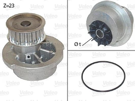 Pompe à eau - VALEO - 506308