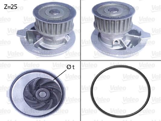 Pompe à eau - VALEO - 506309