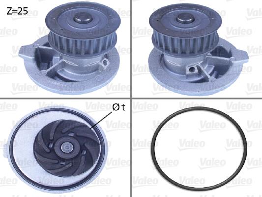 Pompe à eau - VALEO - 506310