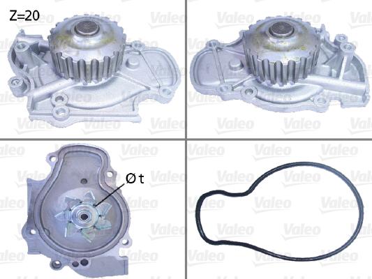 Pompe à eau - VALEO - 506321
