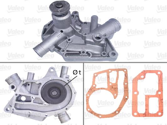 Pompe à eau - VALEO - 506328