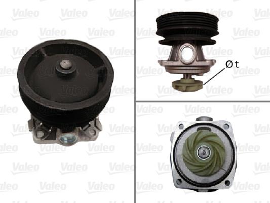 Pompe à eau - VALEO - 506334