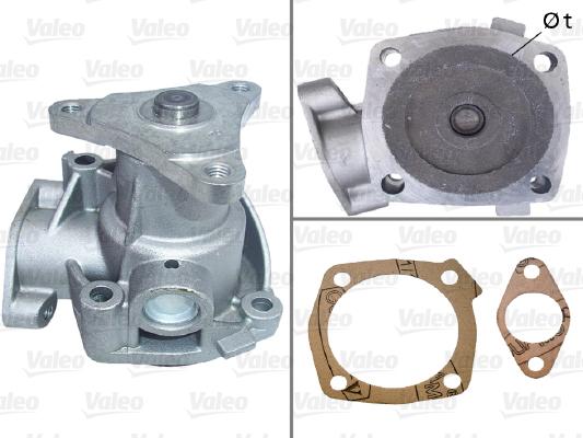 Pompe à eau - VALEO - 506335