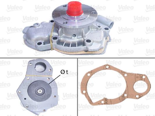 Pompe à eau - VALEO - 506345