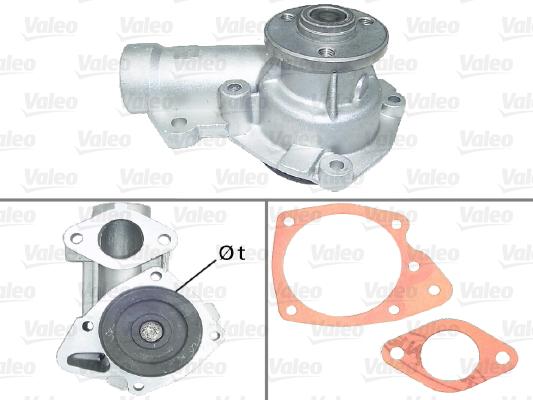 Pompe à eau - VALEO - 506383