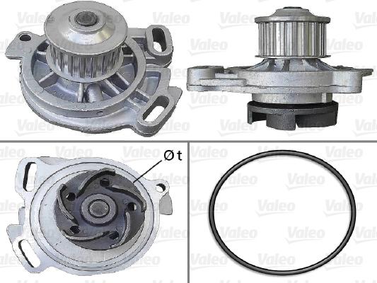 Pompe à eau - VALEO - 506388