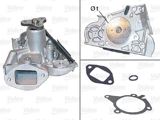 Pompe à eau - VALEO - 506401