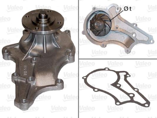 Pompe à eau - VALEO - 506411