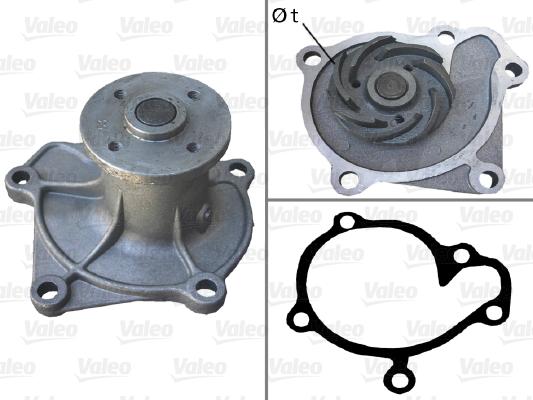 Pompe à eau - VALEO - 506413