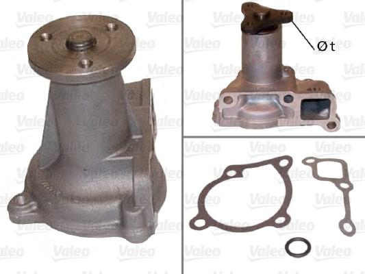 Pompe à eau - VALEO - 506424