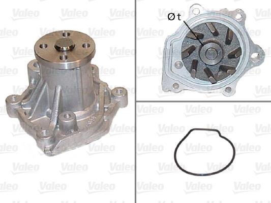 Pompe à eau - VALEO - 506425