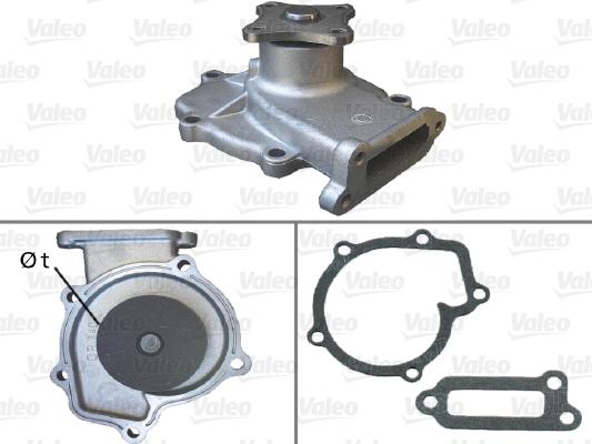 Pompe à eau - VALEO - 506438