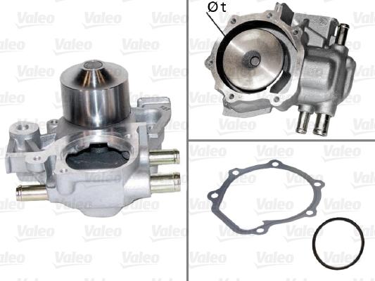 Pompe à eau - VALEO - 506439