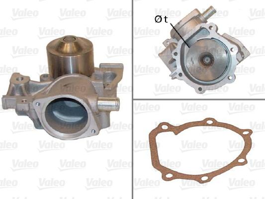 Pompe à eau - VALEO - 506440