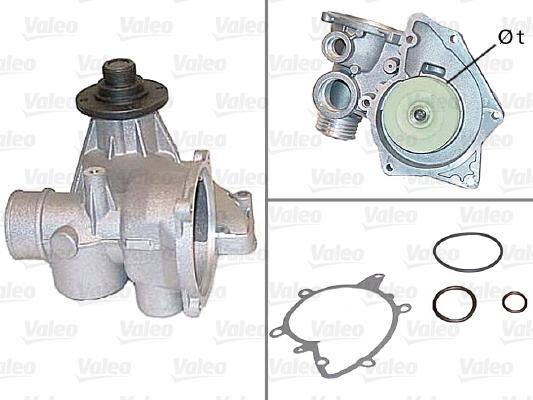 Pompe à eau - VALEO - 506445