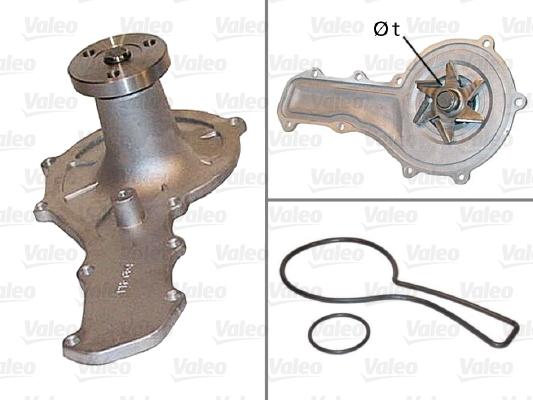 Pompe à eau - VALEO - 506455