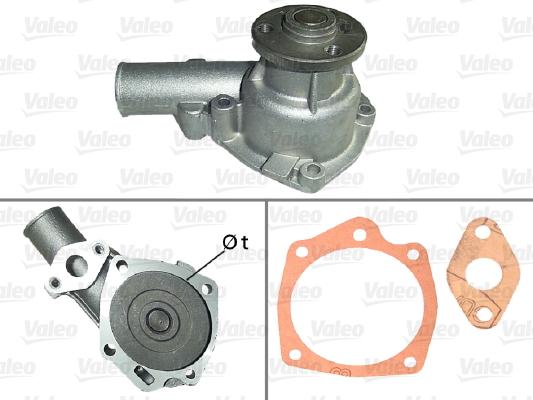 Pompe à eau - VALEO - 506492