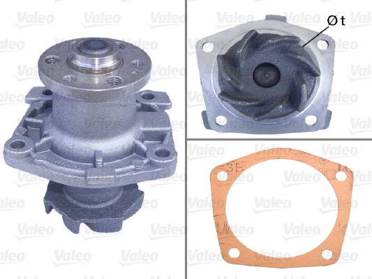 Pompe à eau - VALEO - 506508