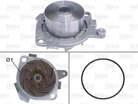 Pompe à eau - VALEO - 506516