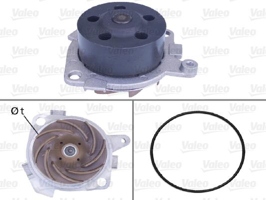 Pompe à eau - VALEO - 506518