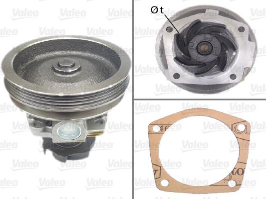 Pompe à eau - VALEO - 506519
