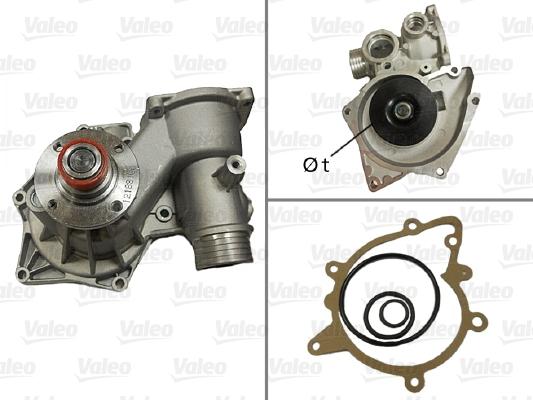 Pompe à eau - VALEO - 506521