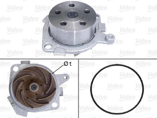 Pompe à eau - VALEO - 506525