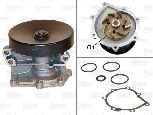 Pompe à eau - VALEO - 506526