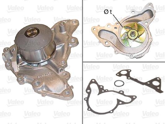 Pompe à eau - VALEO - 506539