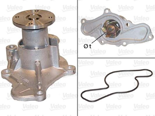 Pompe à eau - VALEO - 506544
