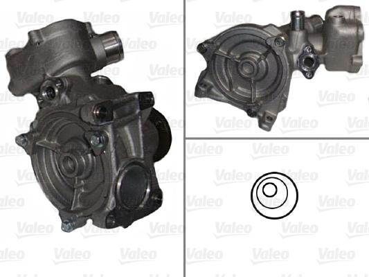 Pompe à eau - VALEO - 506547