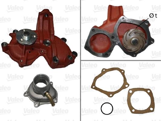Pompe à eau - VALEO - 506562