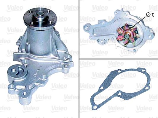 Pompe à eau - VALEO - 506565