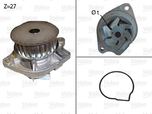 Pompe à eau - VALEO - 506576
