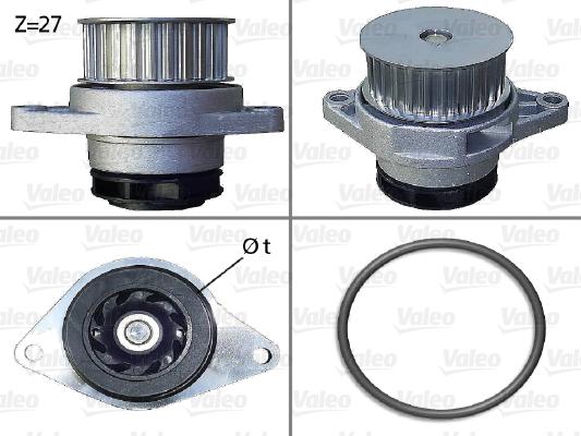 Pompe à eau - VALEO - 506578