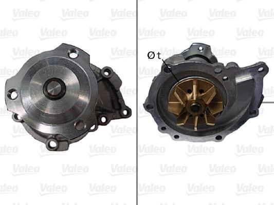 Pompe à eau - VALEO - 506579